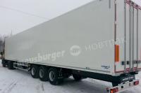 Полуприцеп промтоварный фургон Meusburger Новтрак, модель SG-345ST